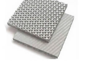 Dutch Weave Wire Cloth Plus Square Woven SS Mesh Sintered Sheet of Triple Layer