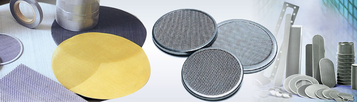 Metal Mesh Extruder Screen Filter, single layer or multi-layer