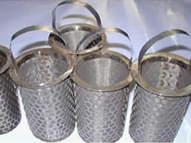 Metal Mesh Filter Strainers