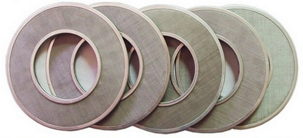 Stainless Steel Wire Mesh Disk Screen with Round Frame 304 and 316L
